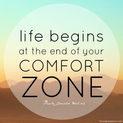 Are you too comfortable athena coaching for Comfort zone