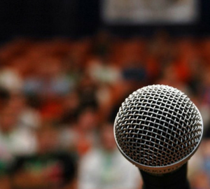 Courage in the Face of Public Speaking