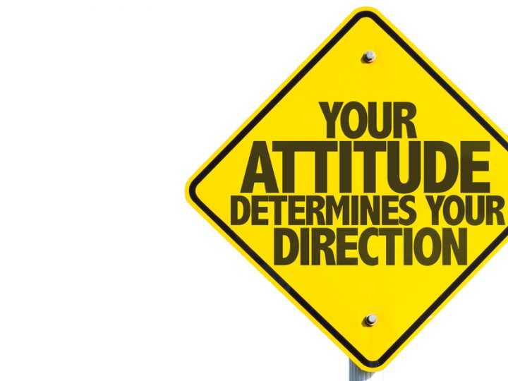 Taking the next step: The attitudes you need to achieve success.