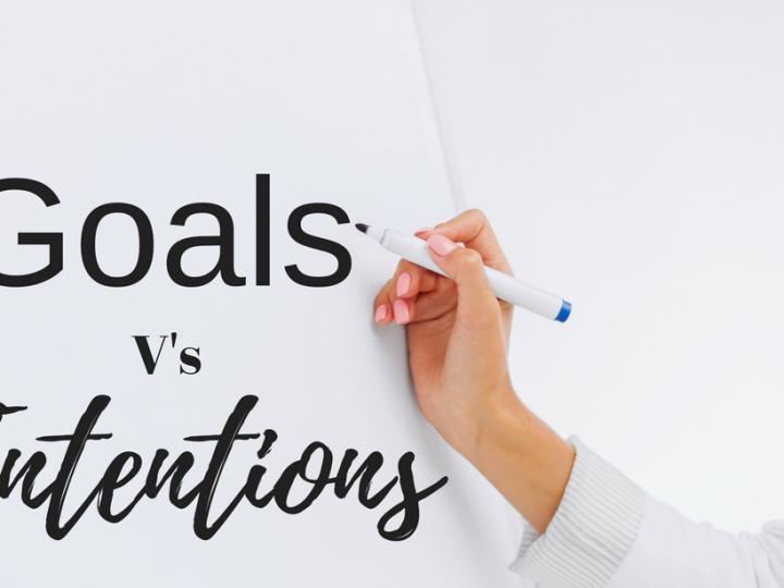 Goals vs. Intent